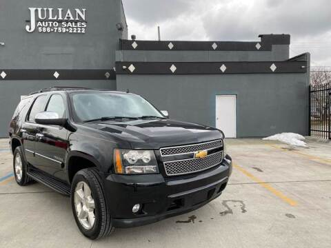 2008 Chevrolet Tahoe for sale at Julian Auto Sales, Inc. in Warren MI