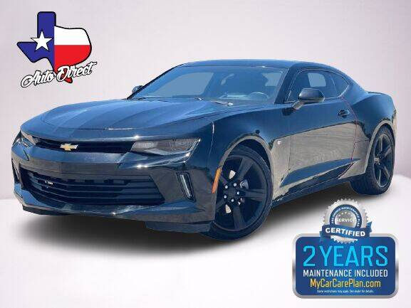 2016 Chevrolet Camaro for sale at AUTO DIRECT Bellaire in Houston TX