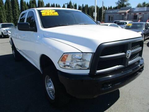 2013 RAM Ram Pickup 2500 for sale at GMA Of Everett in Everett WA