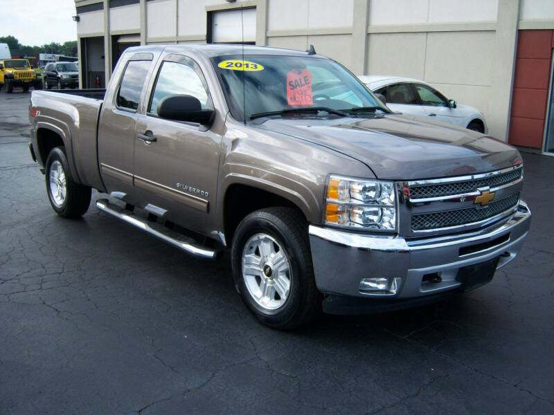 2013 Chevrolet Silverado 1500 for sale at Blatners Auto Inc in North Tonawanda NY