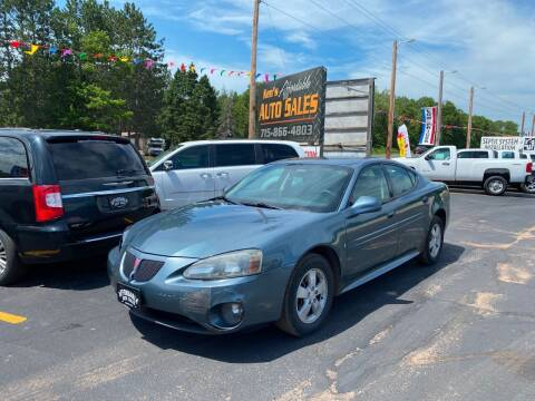 2006 Pontiac Grand Prix for sale at Affordable Auto Sales in Webster WI