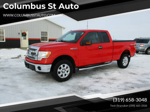 2014 Ford F-150 for sale at Columbus St Auto in Crawfordsville IA