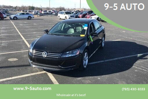 2012 Volkswagen Passat for sale at 9-5 AUTO in Topeka KS