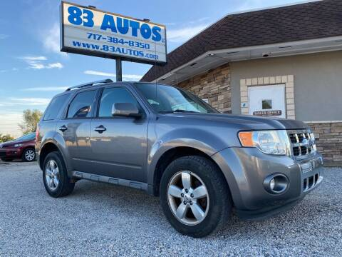 2010 Ford Escape for sale at 83 Autos in York PA