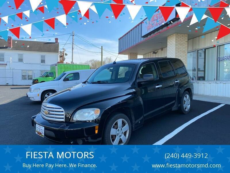 2007 Chevrolet HHR for sale at FIESTA MOTORS in Hagerstown MD