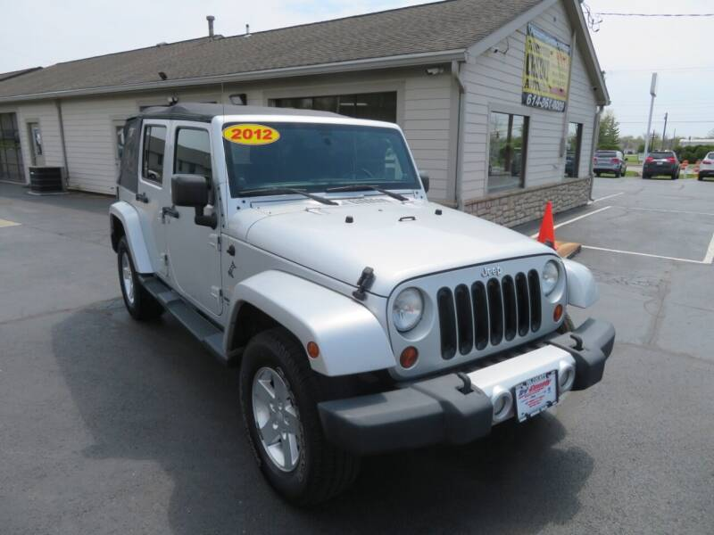 2012 Jeep Wrangler Unlimited for sale at Tri-County Pre-Owned Superstore in Reynoldsburg OH