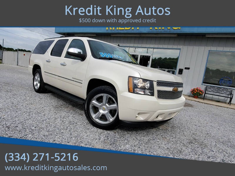 2012 Chevrolet Suburban for sale at Kredit King Autos in Montgomery AL
