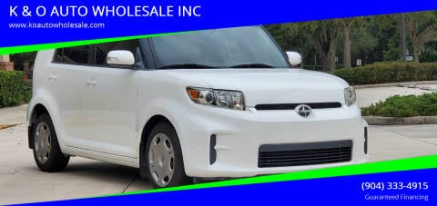 2011 Scion xB for sale at K & O AUTO WHOLESALE INC in Jacksonville FL