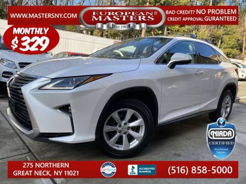 2017 Lexus RX 350 for sale at European Masters in Great Neck NY