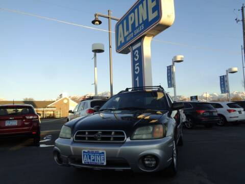 2003 Subaru Baja for sale at Alpine Auto Sales in Salt Lake City UT