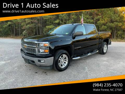 2014 Chevrolet Silverado 1500 for sale at Drive 1 Auto Sales in Wake Forest NC