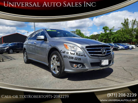 2011 Mercedes-Benz R-Class for sale at Universal Auto Sales Inc in Salem OR