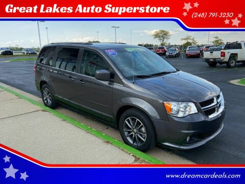 2017 Dodge Grand Caravan for sale at Great Lakes Auto Superstore in Waterford Township MI