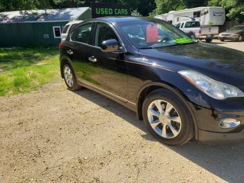 2008 Infiniti EX35 for sale at Northwoods Auto & Truck Sales in Machesney Park IL