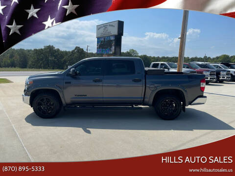 2018 Toyota Tundra for sale at Hills Auto Sales in Salem AR