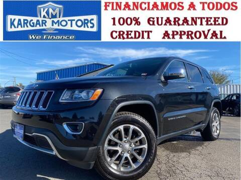 2014 Jeep Grand Cherokee for sale at Kargar Motors of Manassas in Manassas VA