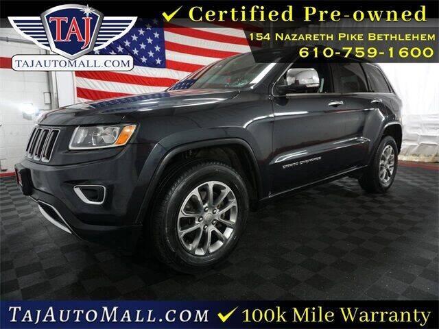 2015 Jeep Grand Cherokee for sale at Taj Auto Mall in Bethlehem PA