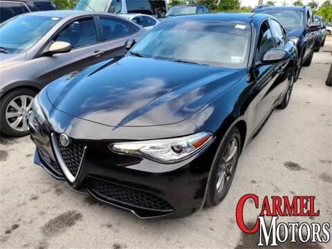 2018 Alfa Romeo Giulia for sale at Carmel Motors in Indianapolis IN