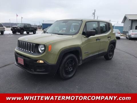 2015 Jeep Renegade for sale at WHITEWATER MOTOR CO in Milan IN