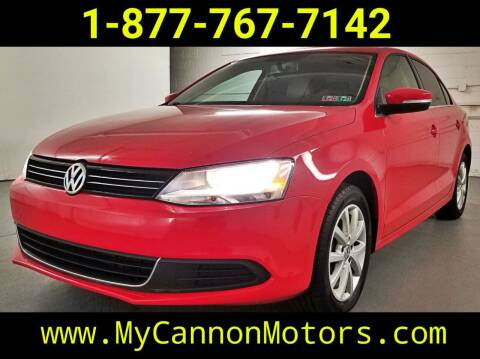 2013 Volkswagen Jetta for sale at Cannon Motors in Silverdale PA