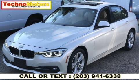 2016 BMW 3 Series for sale at Techno Motors in Danbury CT