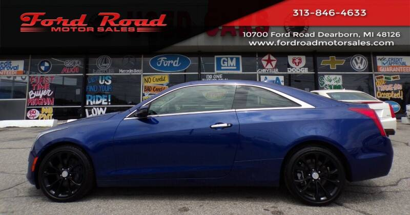 2015 Cadillac ATS for sale at Ford Road Motor Sales in Dearborn MI