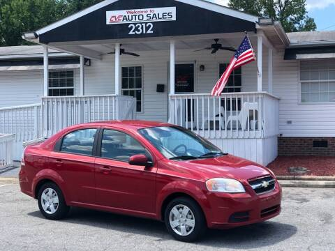 2011 Chevrolet Aveo for sale at CVC AUTO SALES in Durham NC