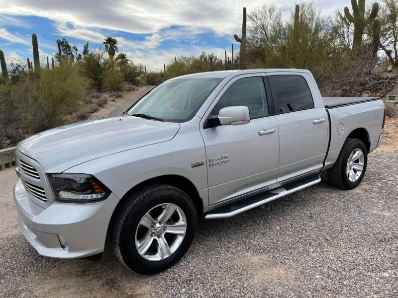 2015 RAM Ram Pickup 1500 for sale at Auto Executives in Tucson AZ