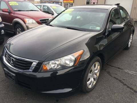 2009 Honda Accord for sale at Dijie Auto Sale and Service Co. in Johnston RI