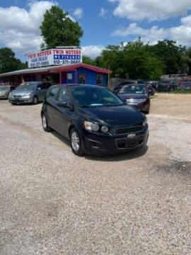 2013 Chevrolet Sonic for sale at Twin Motors in Austin TX