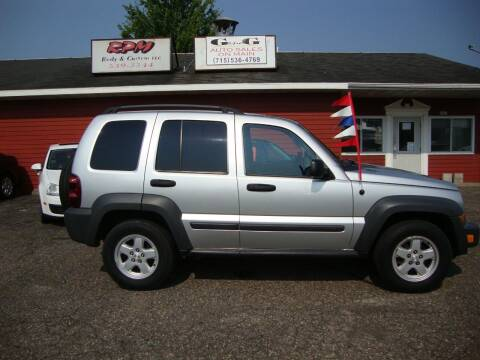 2006 Jeep Liberty for sale at G and G AUTO SALES in Merrill WI