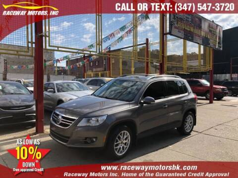 2010 Volkswagen Tiguan for sale at Raceway Motors Inc in Brooklyn NY