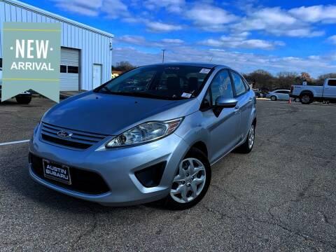 2011 Ford Fiesta for sale at Hatimi Auto LLC in Buda TX