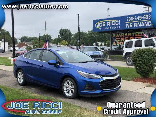 2019 Chevrolet Cruze for sale at JOE RICCI AUTOMOTIVE in Clinton Township MI