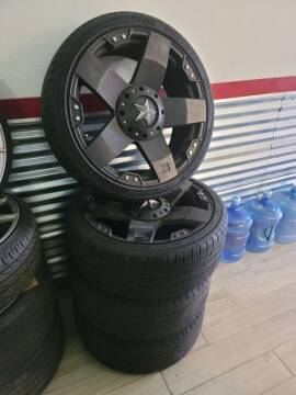 """2019 Rockstar Used Wheels 22"""" Wheels  for sale at WICKED NICE CAAAZ in Cape Coral FL"""