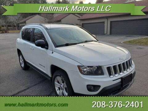2016 Jeep Compass for sale at HALLMARK MOTORS LLC in Boise ID