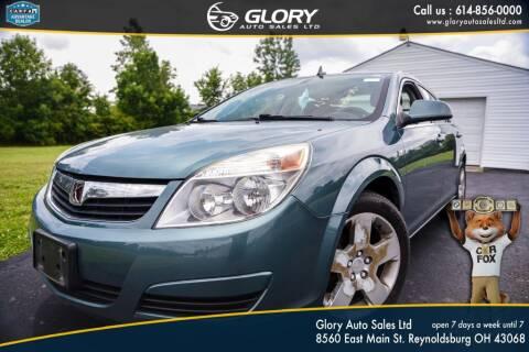 2009 Saturn Aura for sale at Glory Auto Sales LTD in Reynoldsburg OH