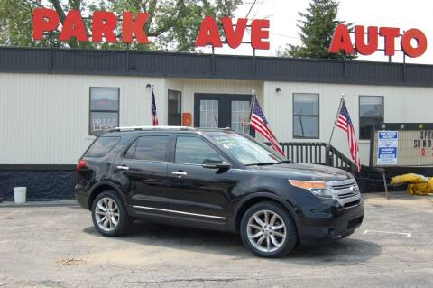 2012 Ford Explorer for sale at Park Ave Auto Inc. in Worcester MA