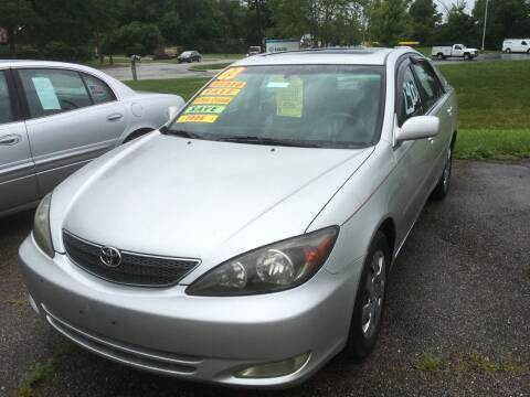 2003 Toyota Camry for sale at Stuart's Cars in Cincinnati OH