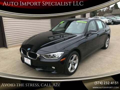 2013 BMW 3 Series for sale at Auto Import Specialist LLC in South Bend IN