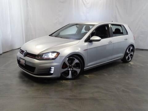 2015 Volkswagen Golf GTI for sale at United Auto Exchange in Addison IL