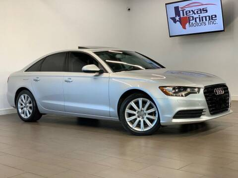 2013 Audi A6 for sale at Texas Prime Motors in Houston TX