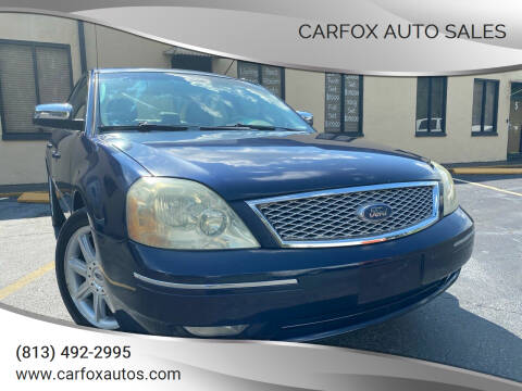 2006 Ford Five Hundred for sale at Carfox Auto Sales in Tampa FL