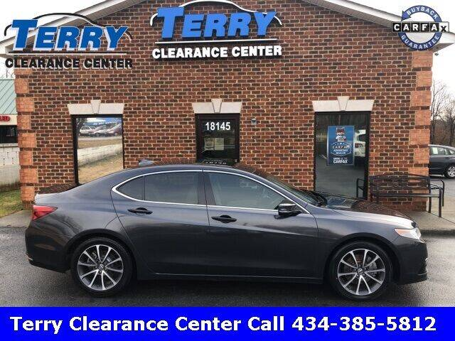 2015 Acura TLX for sale at Terry Clearance Center in Lynchburg VA