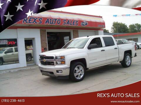 2014 Chevrolet Silverado 1500 for sale at Rex's Auto Sales in Junction City KS