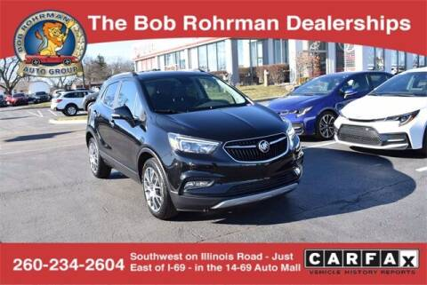 2017 Buick Encore for sale at BOB ROHRMAN FORT WAYNE TOYOTA in Fort Wayne IN