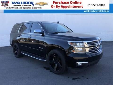 2016 Chevrolet Tahoe for sale at WALKER CHEVROLET in Franklin TN