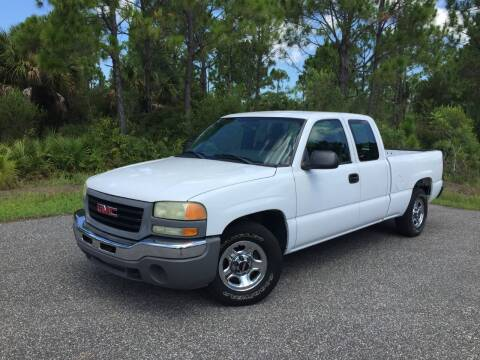 2004 GMC Sierra 1500 for sale at VICTORY LANE AUTO SALES in Port Richey FL