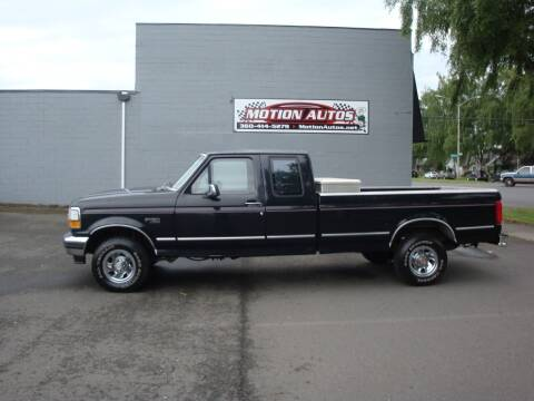 1993 Ford F-150 for sale at Motion Autos in Longview WA