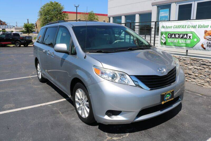 2012 Toyota Sienna for sale at AUTO POINT USED CARS in Rosedale MD